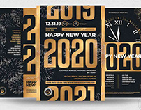 New Year Flyer Bundle V3