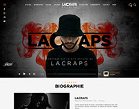 Freelance Project - LaCraps Website