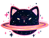 Cosmic Cuties Sticker Pack