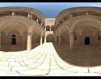 Sponza Atrium panorama