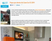 Post: Fique por dentro da Casa Cor ES 2011