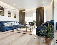 Apartment design for Modul, Tuzla