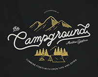 Campground Font Combination
