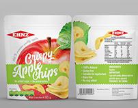 Apple chips packaging design