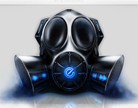 Gas Mask Interface Design