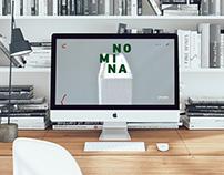 NOMINA - Landing page