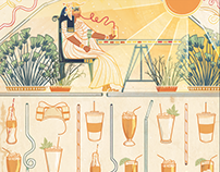 Tampa Bay Times: The History of Drinking Straws
