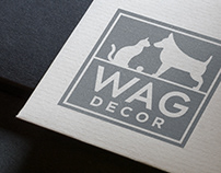 Wag Decor - Logo Process