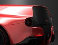 Ferrari F12 Breadvan 2016
