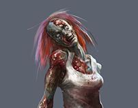 Zombie artist