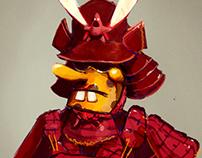 goofy goober samurai