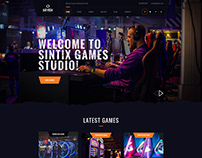 Sintix - Gaming Studio Template