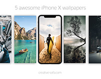 5 Awesome iPhone X Summer Wallpapers
