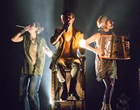 Les fables de Jean de les Egouts (théâtre)