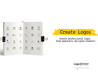 Create Logos from Modularly Designed Graphic Items