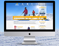 Branding & design - Simply to ski