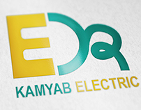 Logo & Business card | Kamyab Electric
