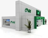 Egypt post stand .ict