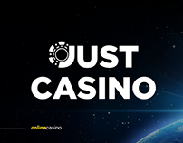 Website design for JustCasino