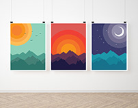 MOUNTAINS - illustrations