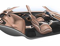 Lamborghini Edroid interior design