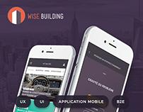 WISE BUILDING - Application de services