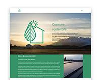 Costruiresostenibile website and 3D render ( 11-2016 )