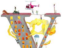 Cover Illustration for the Volkskrant-V