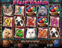 FLUFTAILS - slot game for Casino Technology Inc.