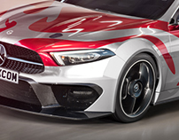 2019 Mercedes-Benz A-Class Sedan Racing Series