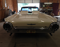 61 Thunderbird Roadster