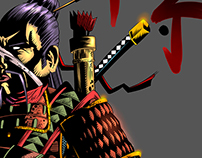 Samurai Ronin   ART Yen Nitro