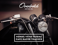 Overbold Motor Co. Honda VF750 Cafe Racer
