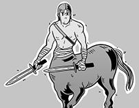 [Illustration] Centaure