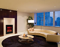 Affordable electric fireplace