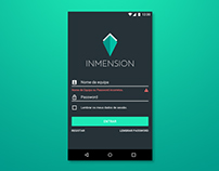 Inmension - Login Screen