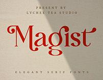 MAGIST ELEGANT FONT