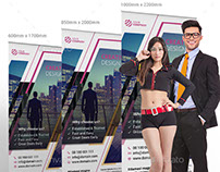 Professional Multi-purpose Roll-up Banner Design