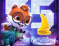 【三只松鼠】55盛典活动视觉策划分享
