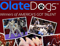 Olate Dogs Flyer for Irving Arts Center