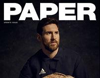 LEO MESSI / PAPER Mag