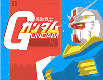 GUNDAM 18x24 Screenprint