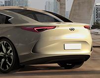 INFINITI Q50 EV 2025