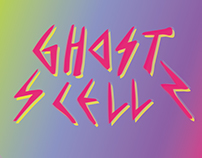 fashion brand 'ghostcell' typo artwork