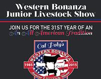 Western Bonanza Jr Livestock Show Event Program 2015
