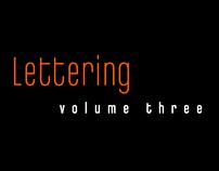 Lettering: Vol 3