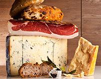 Salami salumi e formaggi