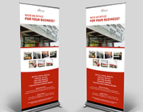 Rent Office - Roll Banner