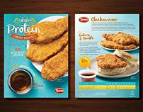 Tyson Waffle Breaded Chicken