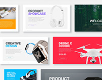 Premium Sella Powerpoint Template + Free Slides